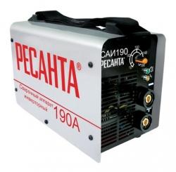 Сварочный аппарат Ресанта САИ-190 инвертор ММА DC