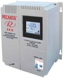 Стабилизатор напряжения Ресанта АСН-3000Н/1-Ц электронный однофазный серый