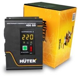 Стабилизатор напряжения Huter 400GS электронный однофазный серый