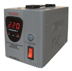 Стабилизатор напряжения Ресанта АСН-1000/1-Ц электронный однофазный серый