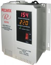 Стабилизатор напряжения Ресанта АСН-1000Н/1-Ц электронный однофазный серый