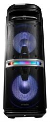 Минисистема Hyundai H-MC280 черный 500Вт/FM/USB/BT/SD/MMC/MS