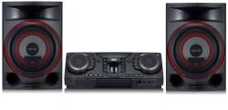 Минисистема LG CL87 черный 2350Вт/CD/CDRW/FM/USB/BT