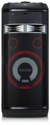 Минисистема LG OL100 черный 2000Вт/CD/CDRW/FM/USB/BT
