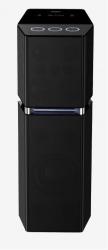 Минисистема Panasonic SC-UA7EE-K черный 1700Вт/FM/USB/BT