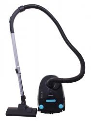 Пылесос Starwind SCB1112 черный/голубой