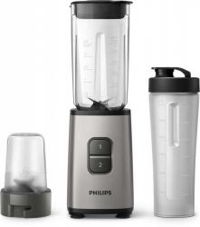 Блендер стационарный Philips HR2604/80 350Вт серебристый/черный