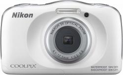 Фотоаппарат Nikon CoolPix W150 белый 13.2Mpix Zoom3x 2.7 1080p 21Mb SDXC CMOS 1x3.1 5minF HDMI/KPr/DPr/WPr/FPr/WiFi/EN-EL19