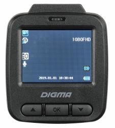 Видеорегистратор Digma FreeDrive 112 черный 1.3Mpix 1080x1920 1080p 150гр. GP1247