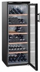 Винный шкаф Liebherr WKb 4212 черный (однокамерный)
