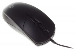 Мышь Oklick 275M черный оптическая (1000dpi) USB (2but)