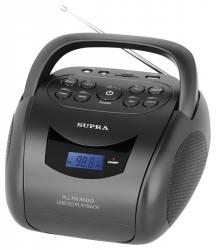 Аудиомагнитола Supra BB-24MUS черный
