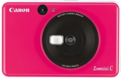 Фотоаппарат Canon Zoemini C розовый 5Mpix microSDXC 50minF/Li-Ion