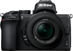 Фотоаппарат Nikon Z50 черный 20.9Mpix 3.2  4K WiFi Nikkor Z DX 16-50 f/3.5-6.3 VR EN-EL25