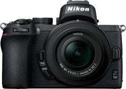 Фотоаппарат Nikon Z50 черный 20.9Mpix 3.2  4K WiFi Nikkor Z DX 16-50mm VR + FTZ EN-EL25