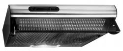 Вытяжка козырьковая Elikor Europa 50П-290-П3Л черный управление: ползунковое (1 мотор)