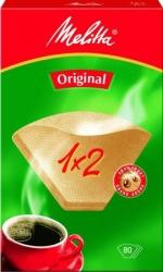Фильтры для кофеварок капельного типа Filtero №2/80 коричневый