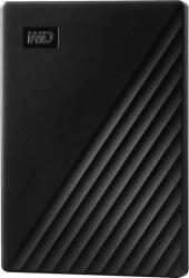 Жесткий диск WD Original USB 3.0 1Tb WDBYVG0010BBK-WESN My Passport 2.5 черный