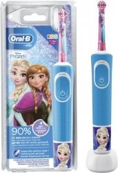 Зубная щетка электрическая Oral-B Kids Frozen синий/розовый