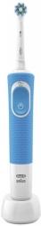 Зубная щетка электрическая Oral-B Vitality CrossAction 100 белый/синий