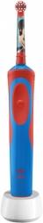 Зубная щетка электрическая Oral-B Mickey Kids красный/синий
