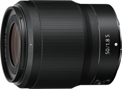 Объектив Nikon NIKKOR Z (JMA001DA) 50мм f/1.8 черный