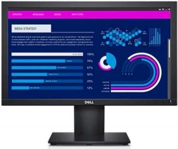 Монитор Dell 18.5  E1920H черный TN LED 16:9 матовая 600:1 200cd 90гр/65гр 1366x768 D-Sub DisplayPort HD READY 2.93кг