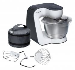 Кухонный комбайн Bosch MUM54A00 серый/белый