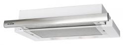 Вытяжка встраиваемая Elikor Интегра 45П-400-В2Л белый/нержавеющая сталь управление: кнопочное (1 мотор)