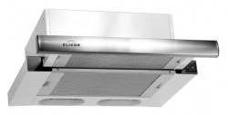 Вытяжка встраиваемая Elikor Интегра 60Н-400-В2Л нержавеющая сталь/нержавеющая сталь управление: кнопочное (1 мотор)