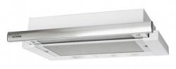 Вытяжка встраиваемая Elikor Интегра 50П-400-В2Л белый/нержавеющая сталь управление: кнопочное (1 мотор)