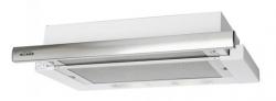 Вытяжка встраиваемая Elikor Интегра 60П-400-В2Л белый/нержавеющая сталь управление: кнопочное (1 мотор)