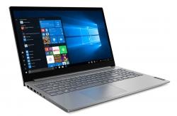 Ноутбук Lenovo Thinkbook 15-IIL Core i5 1035G1/4Gb/1Tb/Intel UHD Graphics/15.6/IPS/FHD 1920x1080/Free DOS/grey/WiFi/BT/Cam
