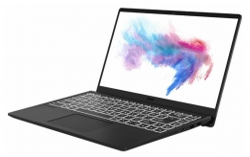 Ноутбук MSI Modern 14 B4MW-021RU Ryzen 5 4500U/8Gb/SSD256Gb/AMD Radeon/14/IPS/FHD 1920x1080/Windows 10/black/WiFi/BT/Cam