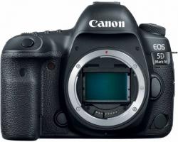 Зеркальный Фотоаппарат Canon EOS 5D Mark IV черный 30.4Mpix 3.2 1080p 4K CF Li-ion (без объектива)