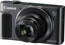 Фотоаппарат Canon PowerShot SX620 HS черный 20.2Mpix Zoom25x 3 1080p SDXC/SD/SDHC CMOS 1x2.3 IS opt 5minF 2.5fr/s 30fr/s HDMI/WiFi/NB-13L