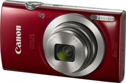 Фотоаппарат Canon IXUS 185 красный 20Mpix Zoom8x 2.7 720p SD CCD 1x2.3 IS opt 1minF 0.8fr/s 25fr/s/NB-11LH