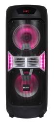 Минисистема Hyundai H-MC300 черный 300Вт/FM/USB/BT/SD/MMC/MS