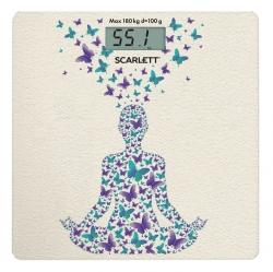 Весы напольные электронные Scarlett SC-BS33E098 рисунок