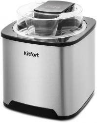 Мороженица Kitfort КТ-1809 серебристый/черный